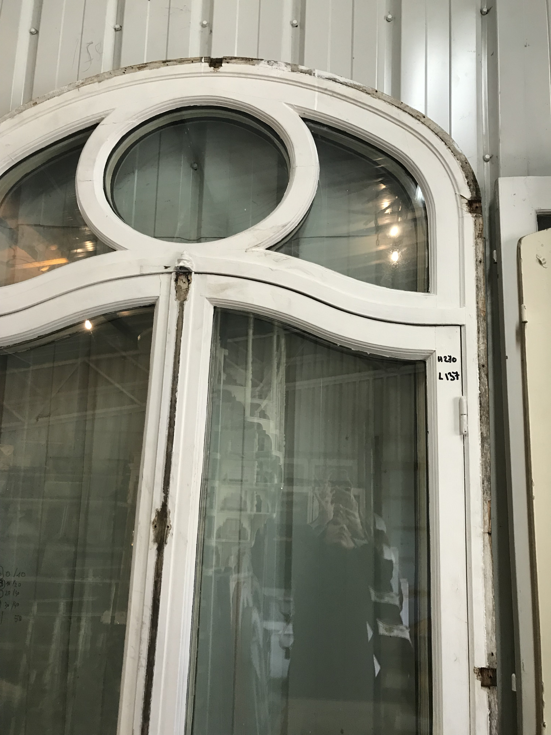 Pair Of Antique French Chateau Doors 2 Pairs Available